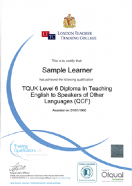 OFQUAL Regulated Diploma in TESOL